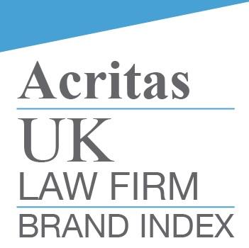 Acritas UK Law Firm Brand Index 2018